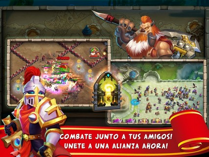 Screenshot De Castle Clash  Para Android