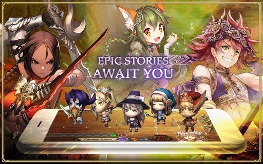 Screenshot De Chain Chronicle Para Android