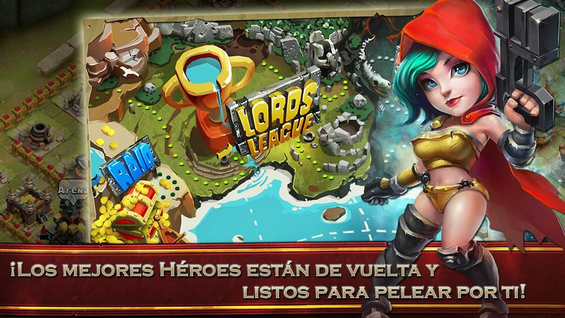 Clash of Lord II  Para Android - Captura