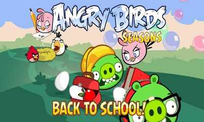 Screenshot De Angry Birds Seasons Back To School Para Android