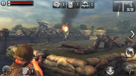 Screenshot De FRONTLINE COMMANDO: D-DAY Para Android