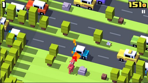 Crossy Road Para Android - Captura