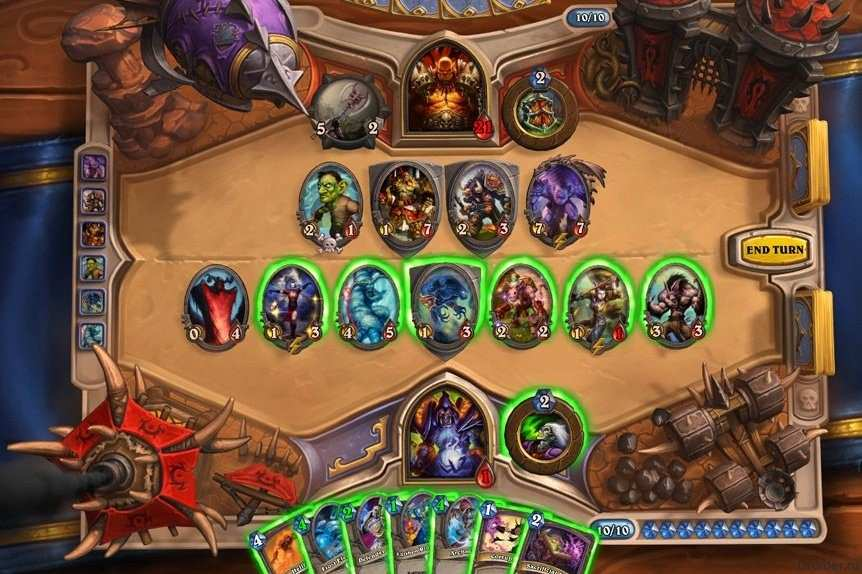 Hearthstone Heroes of Warcraft Para Android - Captura