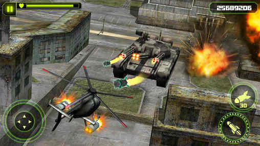 Screenshot De GUNSHIP BATTLE : Helicopter 3D Para Android