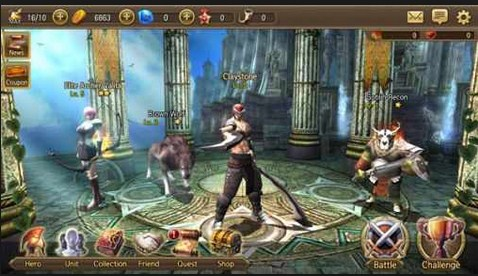 Screenshot De Iron Knights Para Android