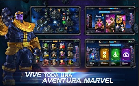 MARVEL Batalla de Superhéroes Para Android - Captura