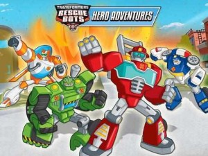 Transformers rescue bots Hero adventures_Androidsan.com_cover